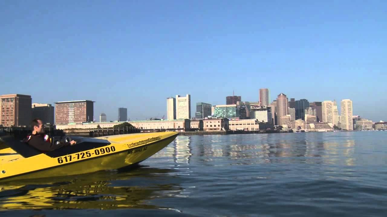 Travel New England: Tour Boston's Waterfront by Mini Speed Boat