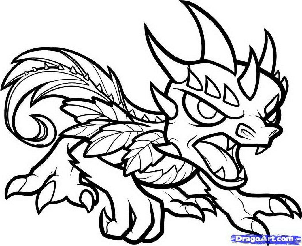 Printable Colouring Page Dragon Coloring Page Crayola Coloring Pages Skylanders