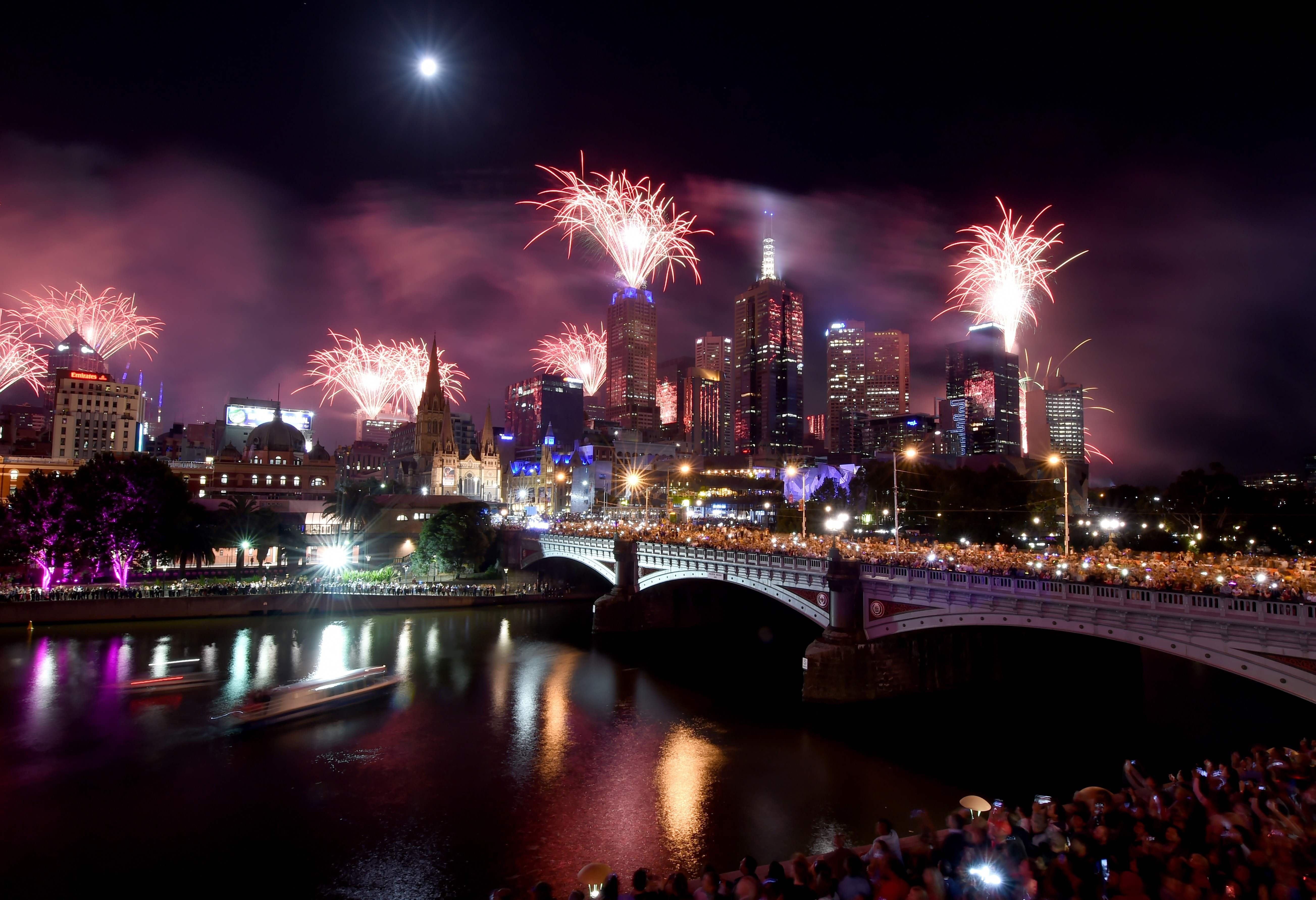 New Year's Eve 2017 celebrations around the world in