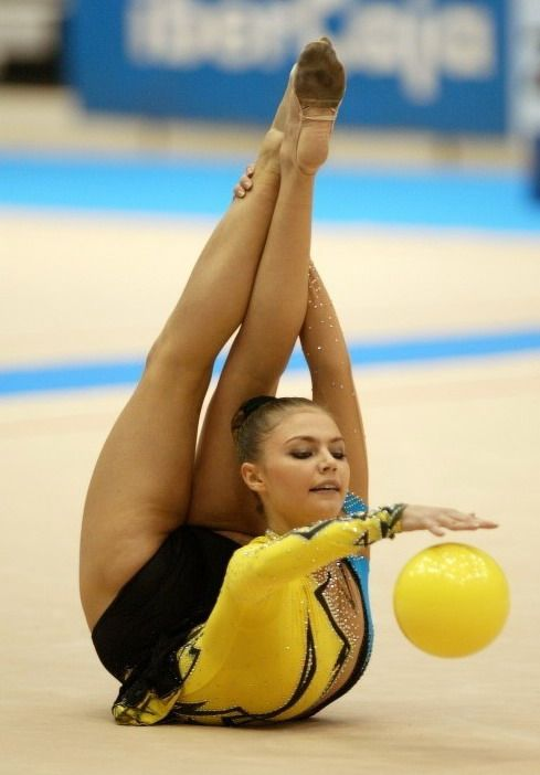 Alina Kabaeva, ginnasta russa tags: ginnastica ritmica ...