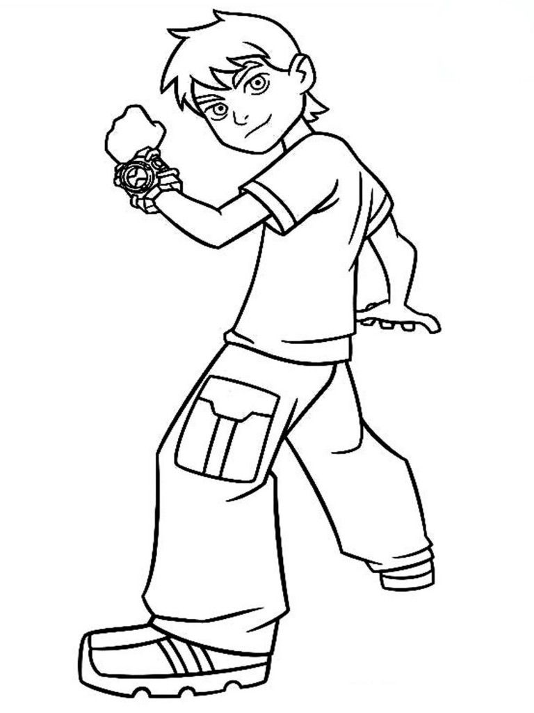 Free Printable Ben 10 Coloring Pages For Kids Ben 10 Coloring For Kids Coloring Pages For Kids