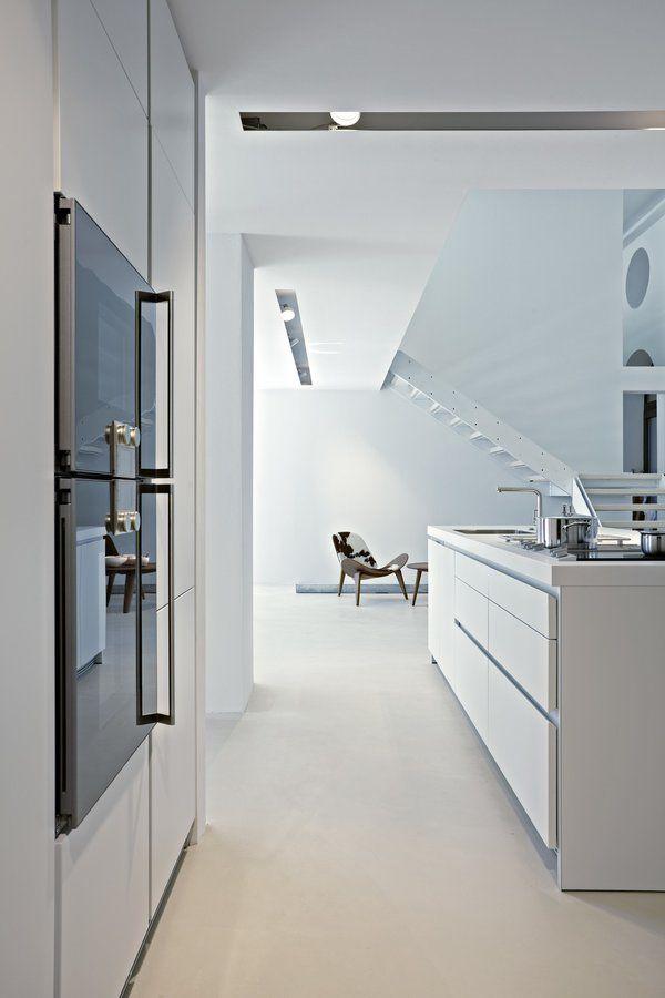 Küchenraumgestaltung #interior #einrichtung #dekoration - küche modern weiss