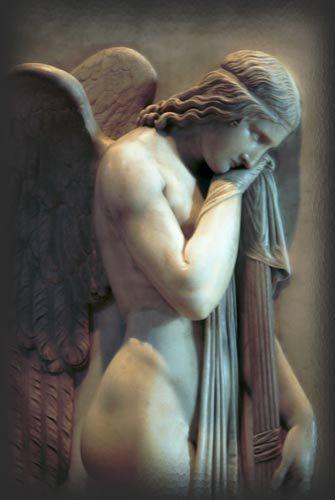 Vatican angel in marble