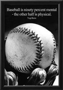Funny Baseball Quotes Custom Yogi Berra Funny Baseball Quote Poster Prints At Allposters .