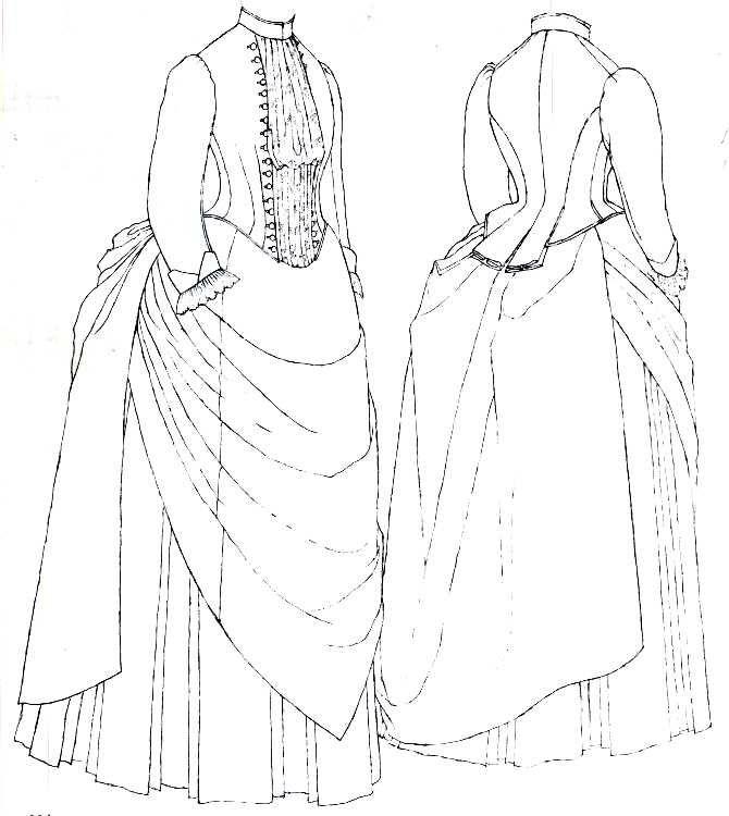 Исторические костюмы рисунки