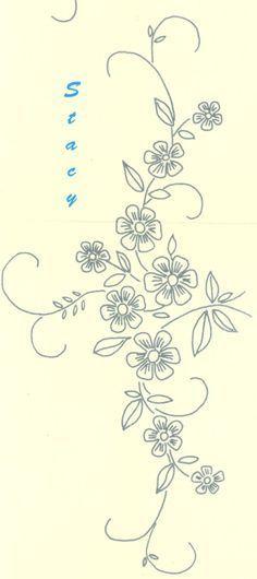 dibujos para sabanitas para bordar en punto de sombra  Buscar con