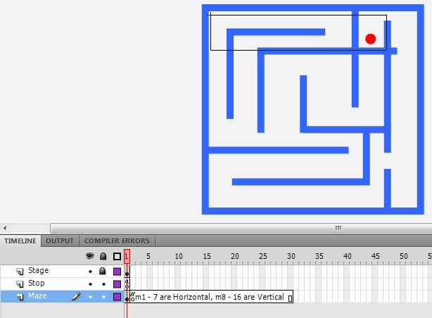 ActionScript 3.0 Maze Game tut
