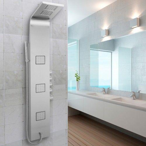 Entice Thermostatic Shower Panel Shower Panels Pinterest - schiebetüren für badezimmer