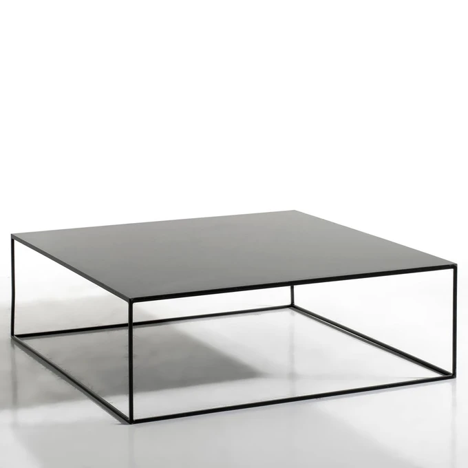 Table Basse Metal Carree Romy Noir Am Pm La Redoute Table Basse Metal Table Basse Table Basse Bois