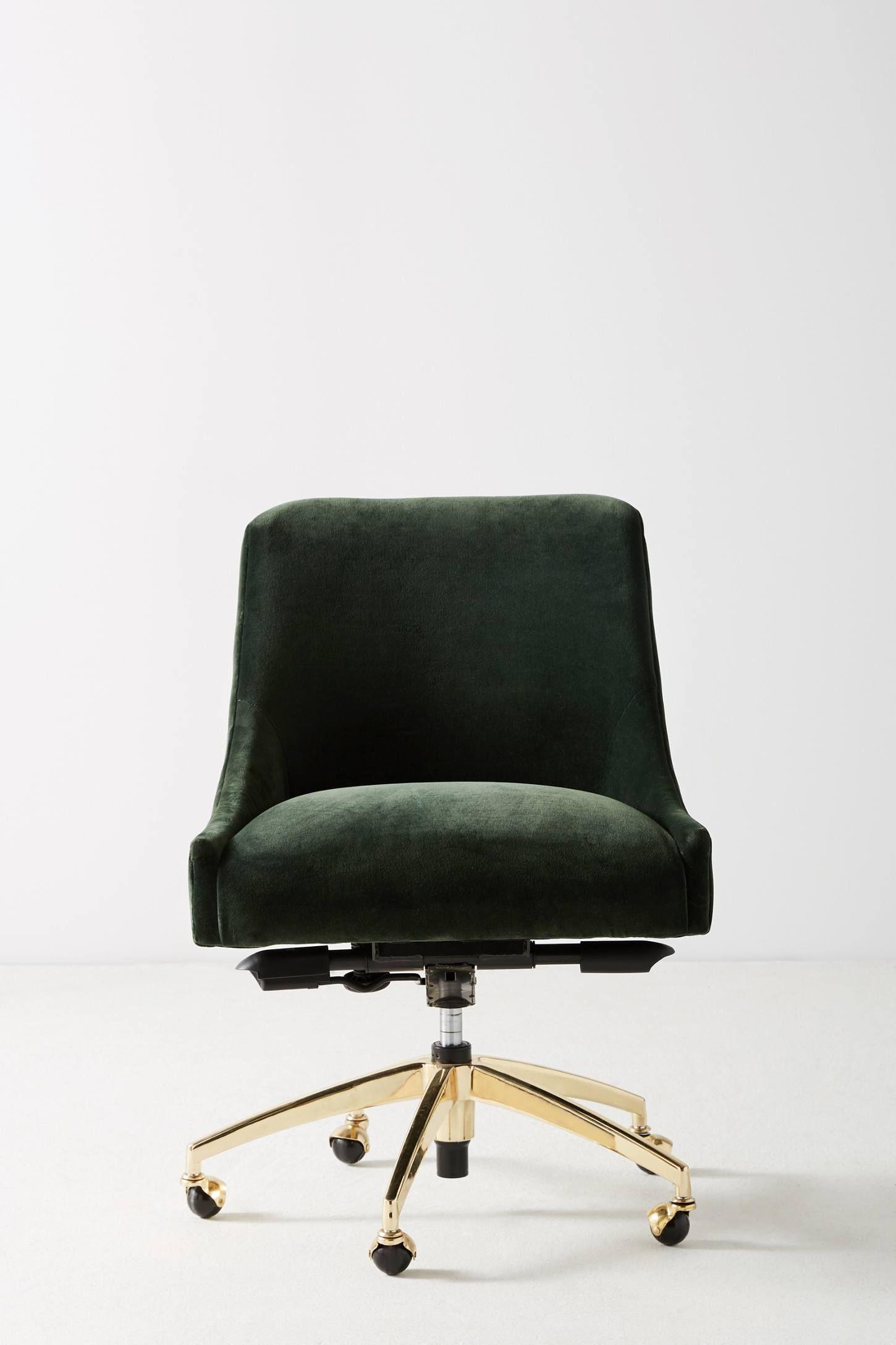 Elowen Swivel Desk Chair Swivel Office Chair Swivel Chair Desk Desk Chair
