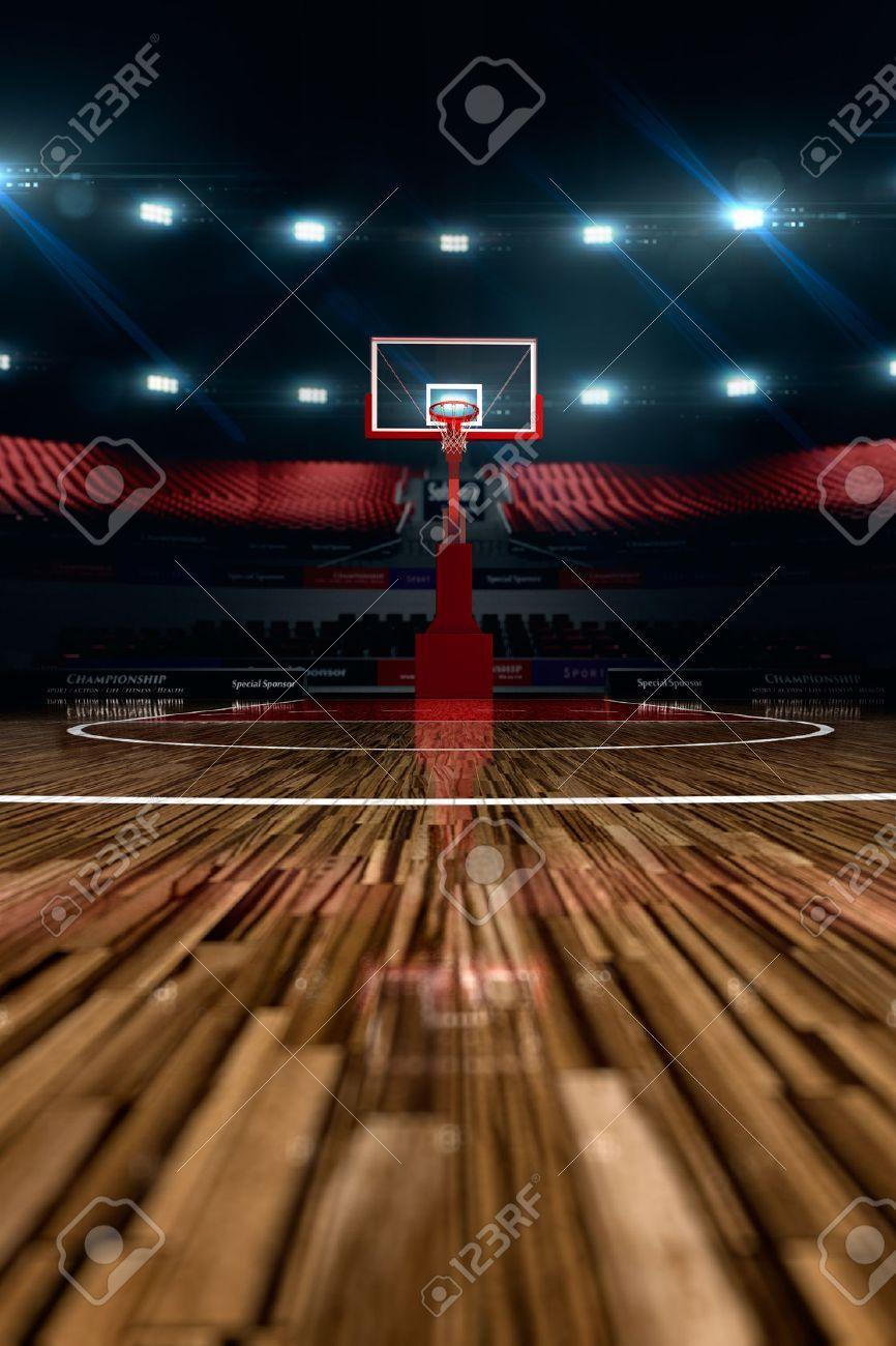 Basketball Court Sport Arena 3d Render Background Unfocus In Long Shot Distance Ad Arena Render Sports Arena Social Media Design Graphics Long Shot