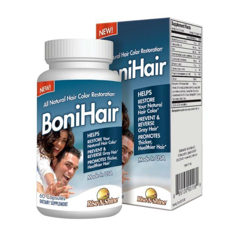 Bonihair Natural Hair Color Restoration Natural And Grey