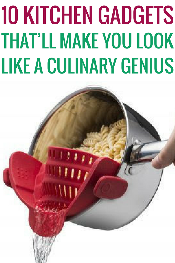 10 Kitchen Gadgets That Ll Make You Look Like A Culinary Genius Culinary Gadgets Genius Kitc In 2020 Funny Kitchen Gadgets Kitchen Gadgets Unique Diy Cleaning Hacks