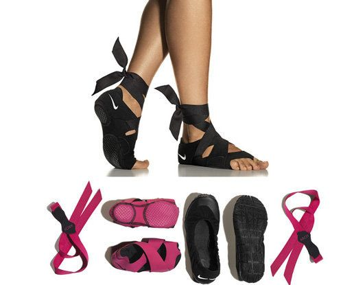 Nike Introduces Yoga Shoes For Your Inadequate Lady Feet | Barre Workout Nike Studio Wrap And Yoga
