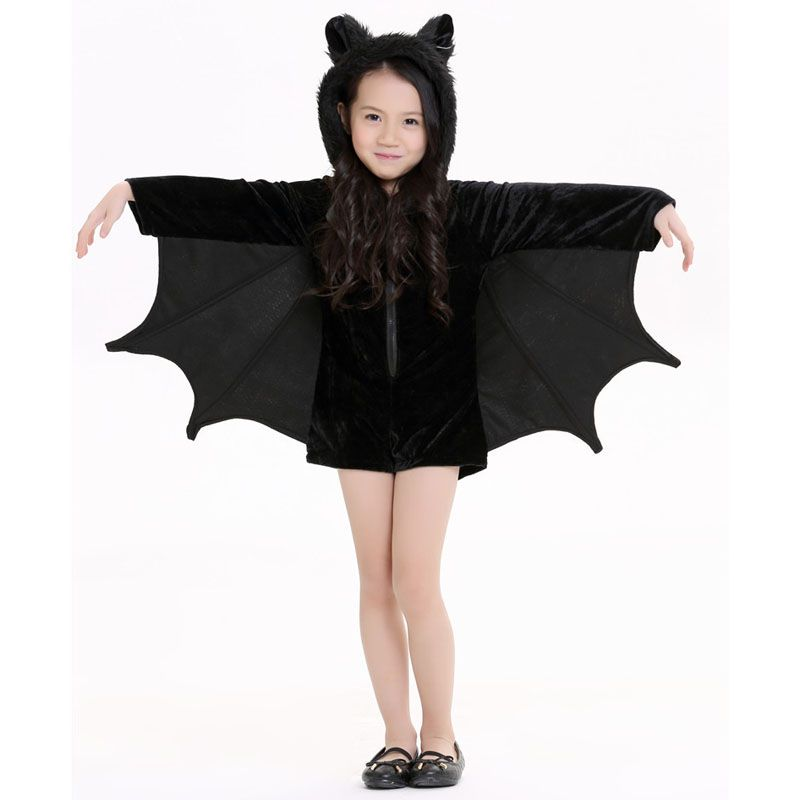New Child Animal Cosplay Cute Bat Costume Kids Halloween Costumes ...
