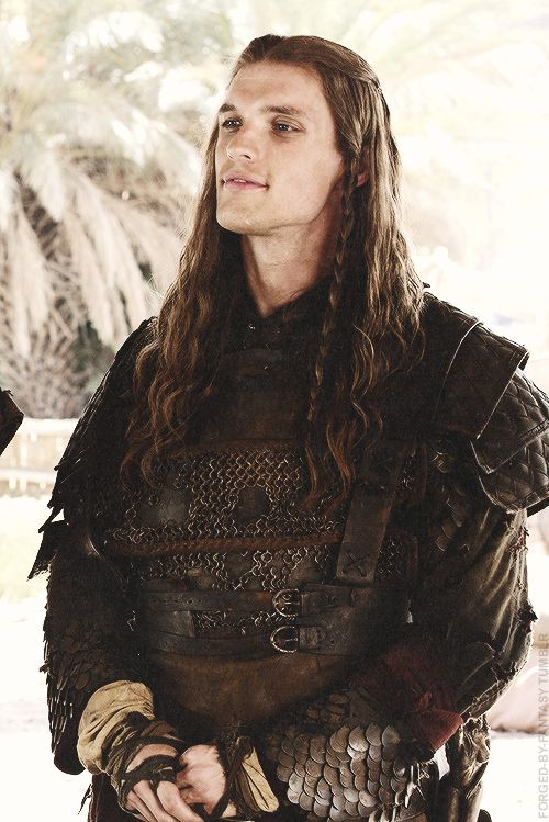 Not sure how much i like him yet in Game of Thrones!! Ed Skrein as Daario- Game of Thrones.