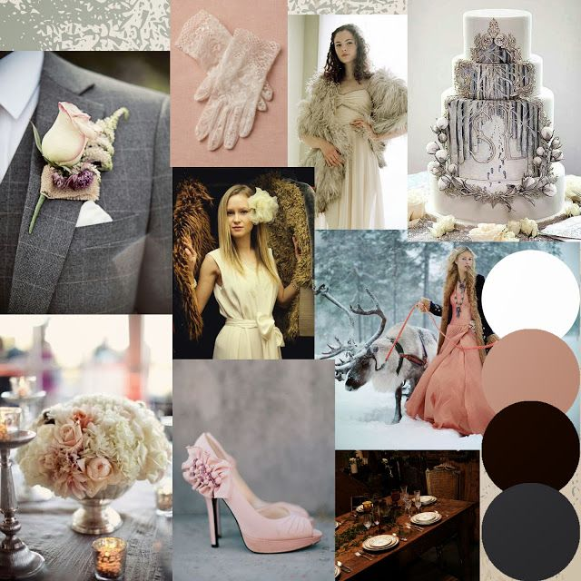 A Narnia Snow Queen Themed Wedding Moodboard