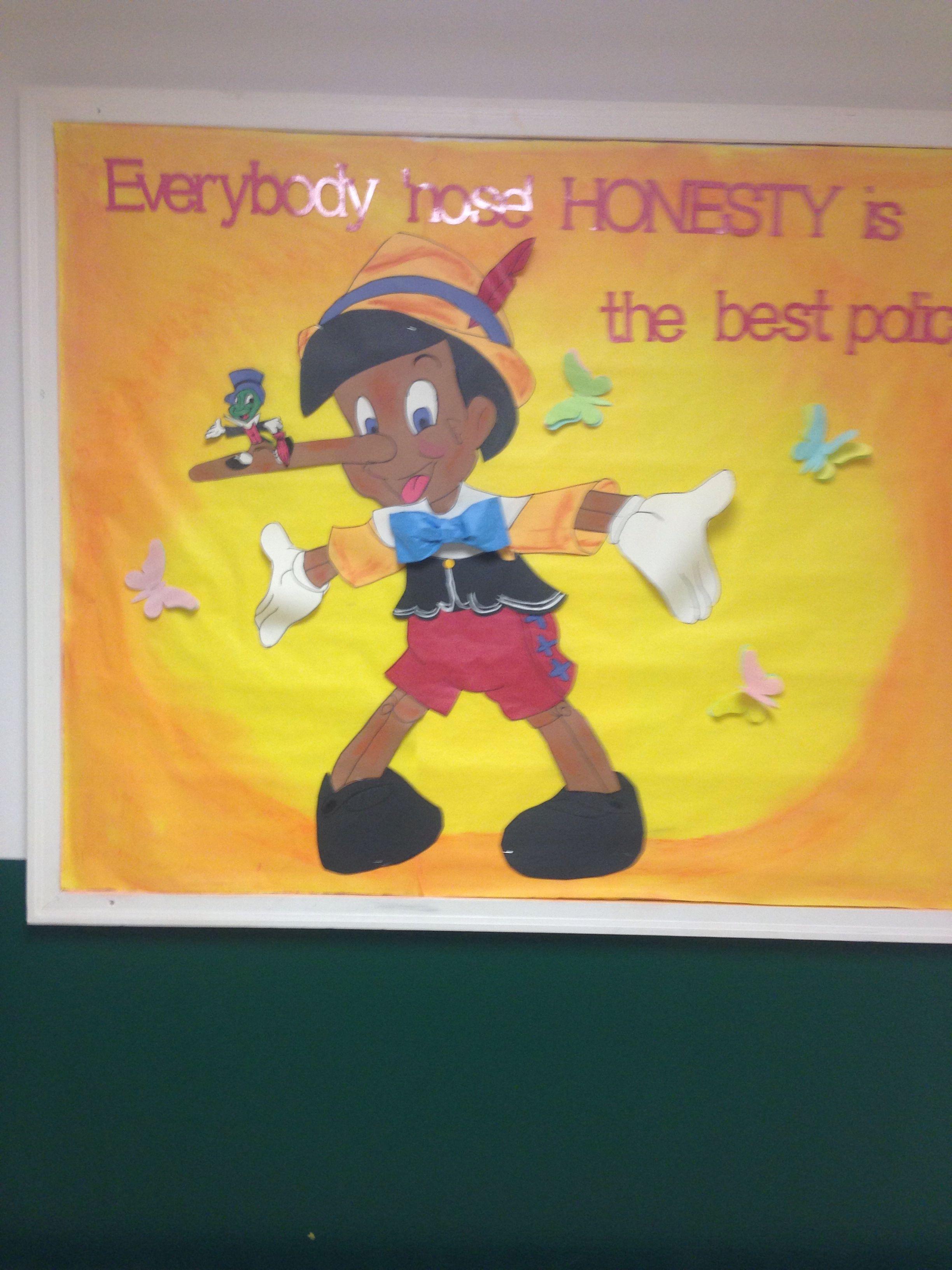 Bulletin Board On Honesty My Secretary Is The Best