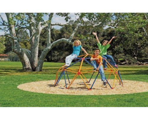 E Dome Climber Backyard Jungle Gym Kids Outdoor Toy Park Climbing Playground Ebay