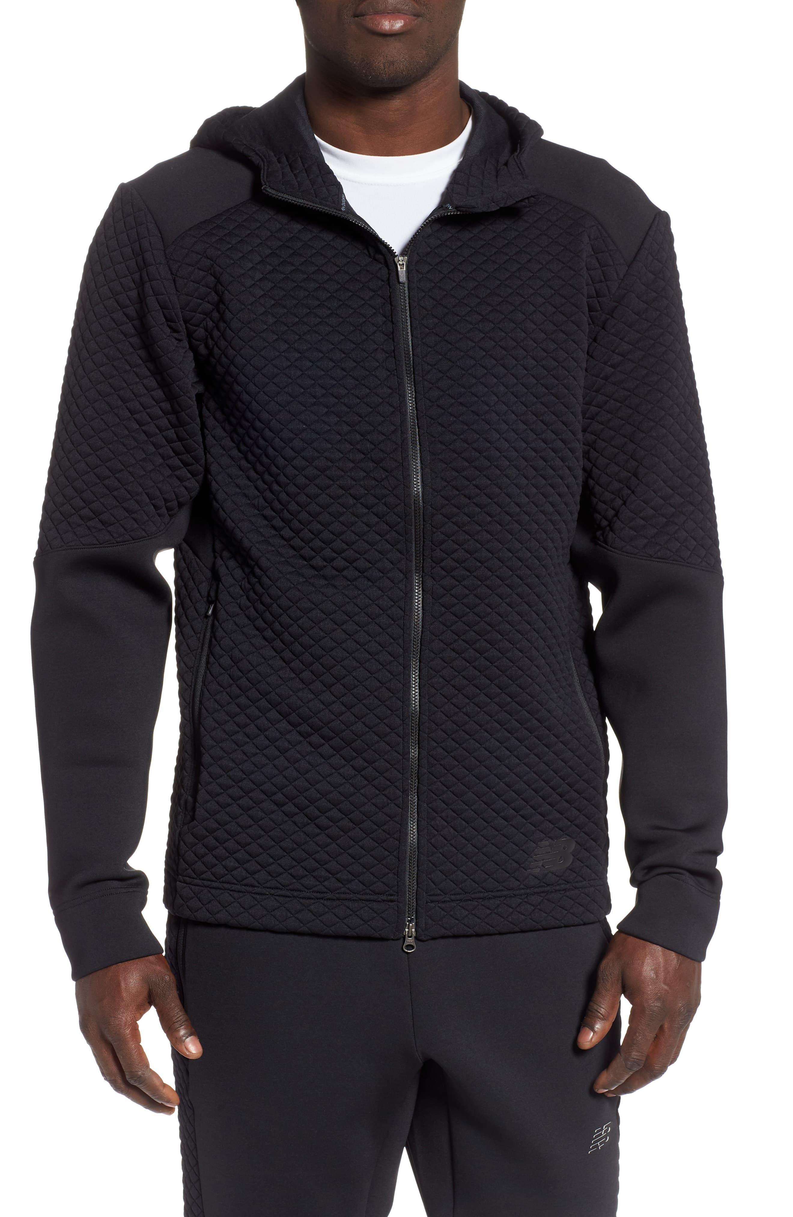 22915dc1a38c0 New Balance Heat Loft Zip Hoodie in 2019   Products   Zip hoodie ...