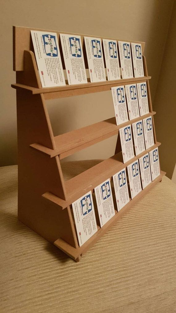 Jewellery Display Stand - 4 shelf version - compact & flat pack ...