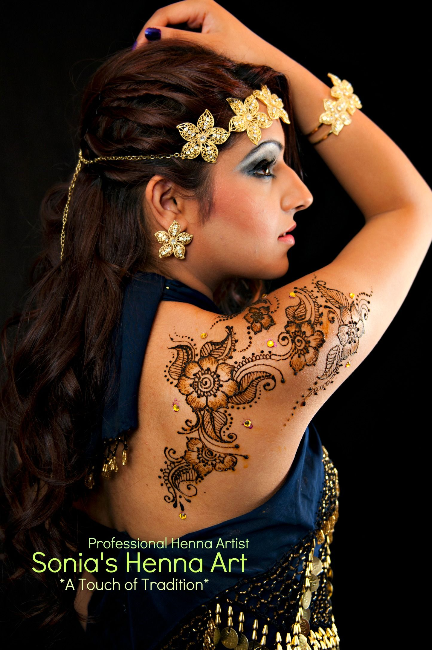 Indian Henna Tattoos Full Body: Www.facebook.com/SoniasHennaArt Mehndi Service In Toronto