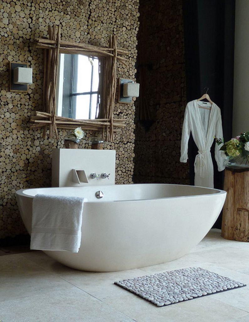 Les 25 meilleures id es de la cat gorie salle de bains - Idee deco salle de bain nature ...