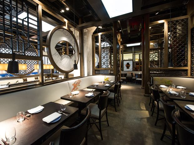 Modern Chinees Interieur : Hakkasan new york modern chinese restaurant bar midtown west
