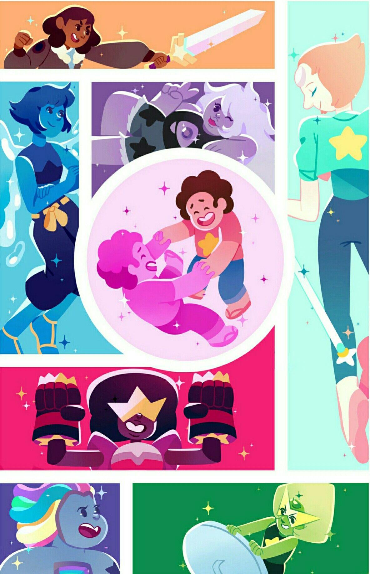 Cristal Gems Gemas De Steven Universe Steven Universe Steven Universe Fusiones