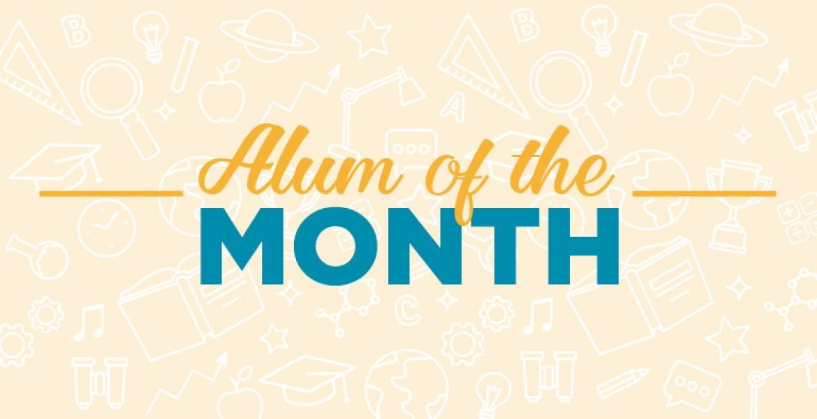Alum of the Month International education, Months, Study