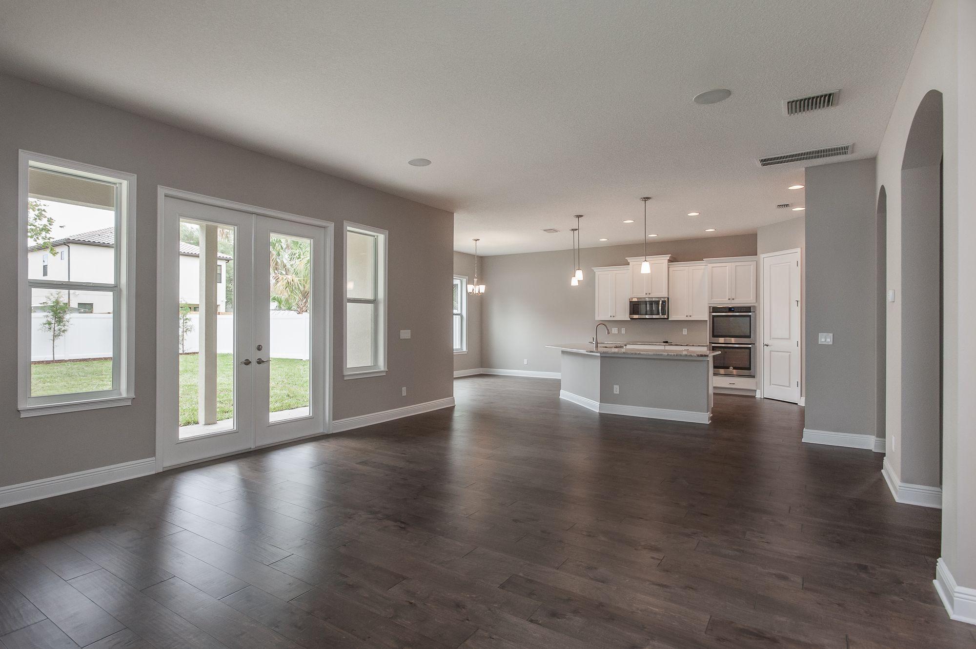 Best Sherwin Williams Collonade Gray Grey Walls Living Room 400 x 300