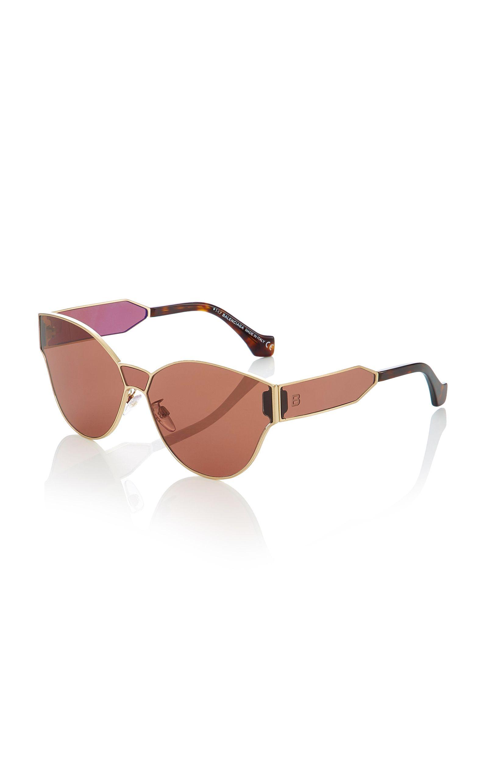 fc1ffcfaf5 Balenciaga Sunglasses Round-Frame Sunglasses