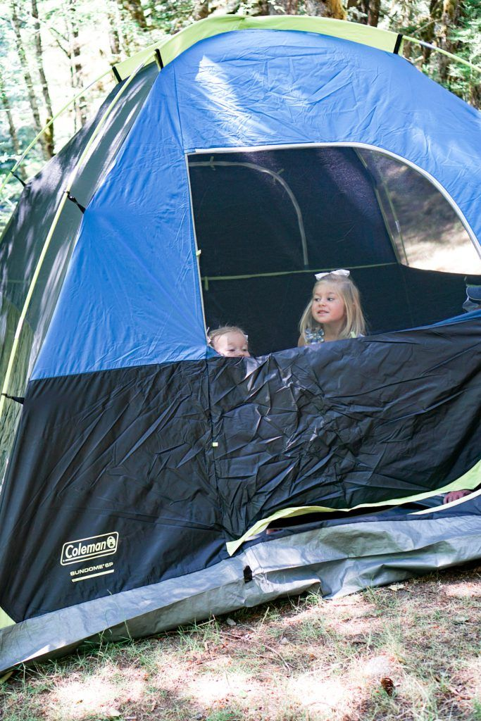 We recently took the girls on a camping trip and wrote a ...