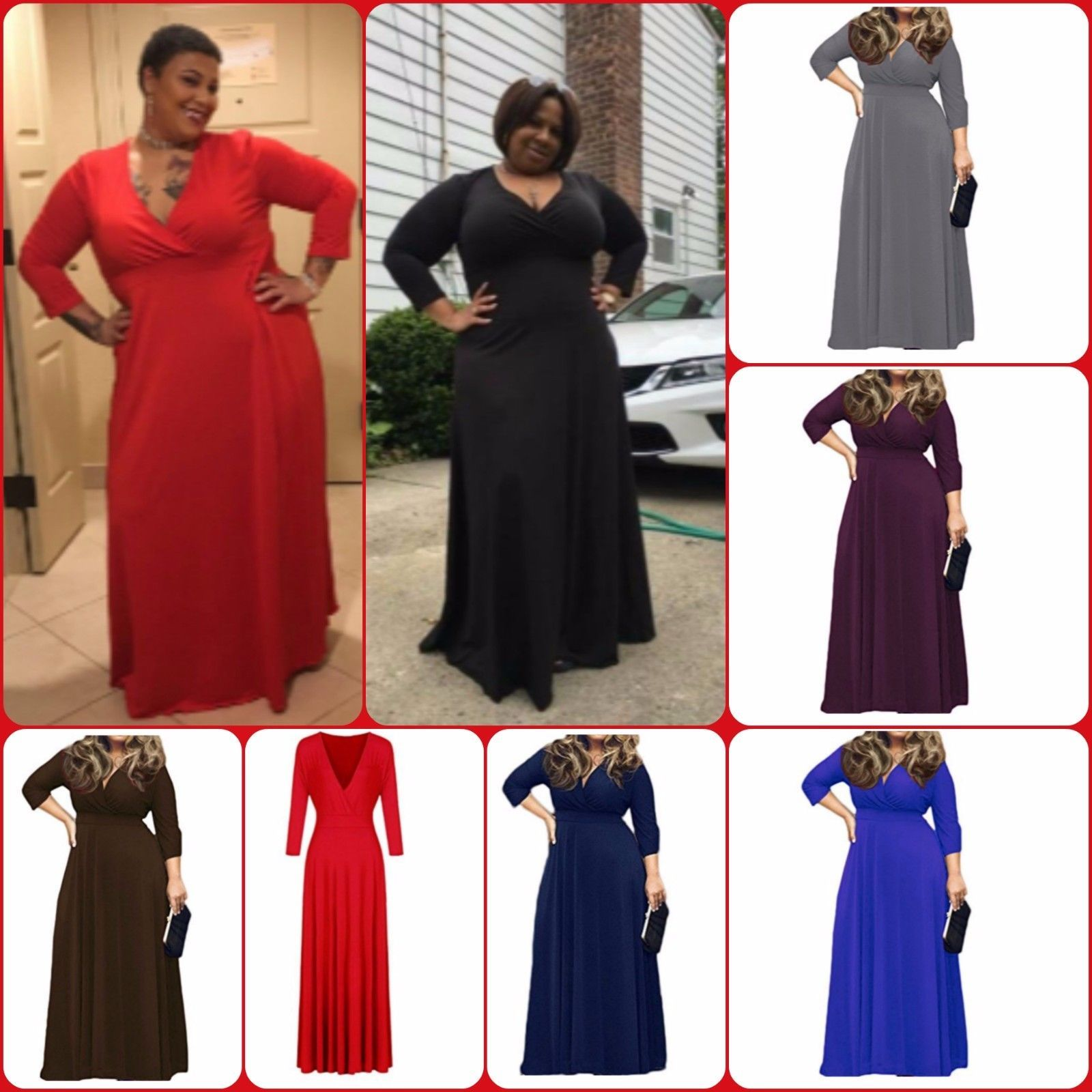 Nice amazing women dress for party evening cocktail long maxi dress