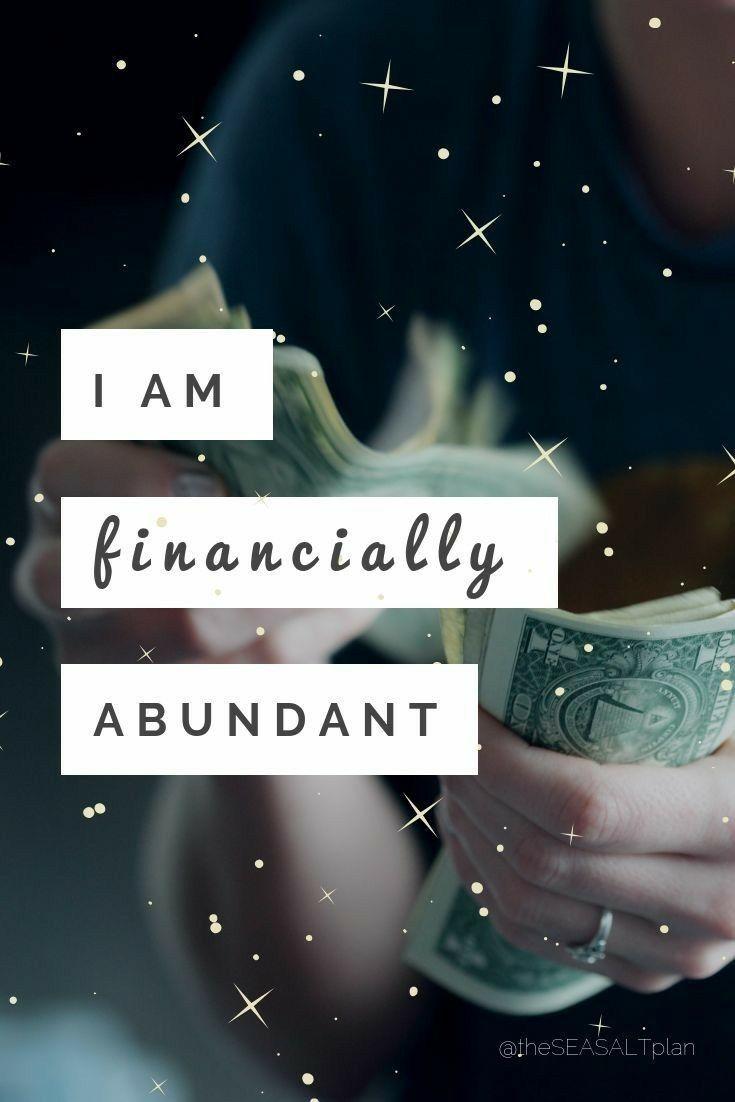 Yes say it loud I am Financially Abundant