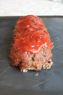 We made this meatloaf last night.... pure deliciousness. Eric suggested maybe adding a bit of chipotle to the ketchup mixture for a different taste. We will probably try that next time.