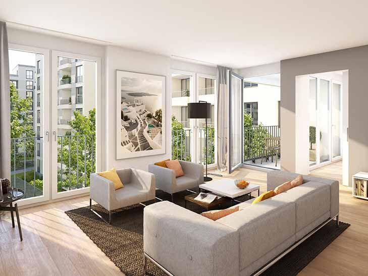 an der an der boschetsrieder ecke drygalski allee entstehen insgesamt ca 1200 moderne. Black Bedroom Furniture Sets. Home Design Ideas
