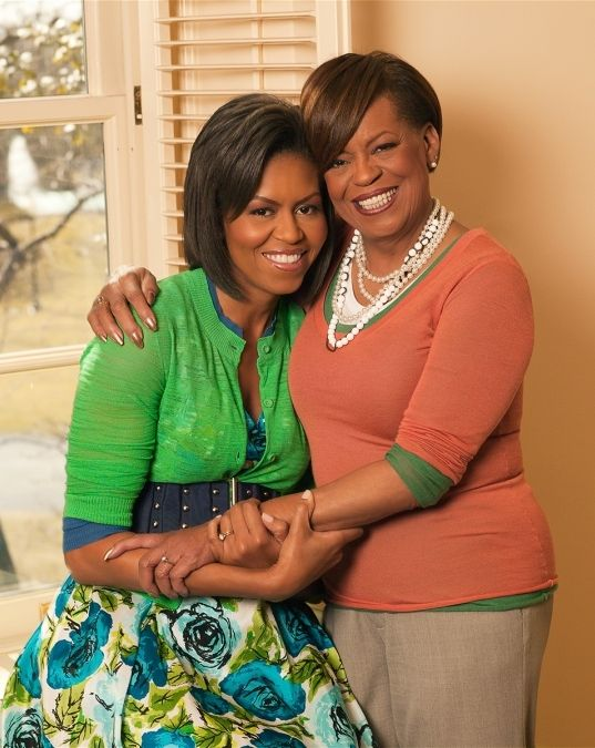 First Lady Michelle Obama and her mom, Marian Lois Shields - michelle obama resume