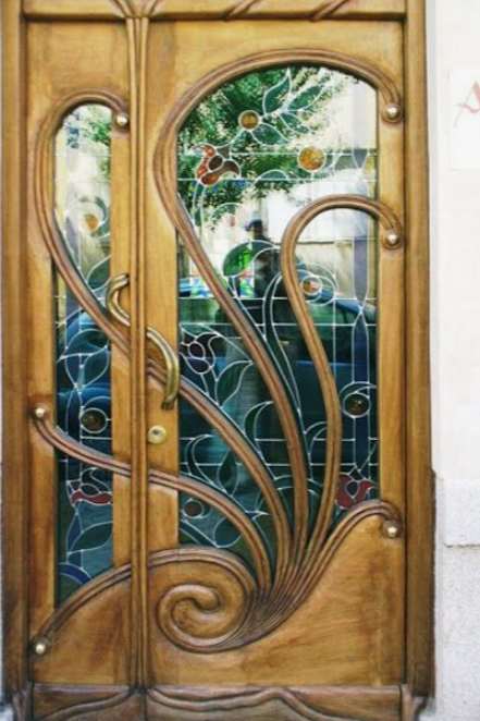 52 Seriously Cool Front Doors Art Nouveau Architecture Unique