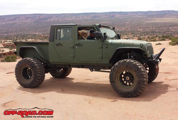Bruiser Diesel Jk Easter Jeep Safari 4 16 14 O O Jeep