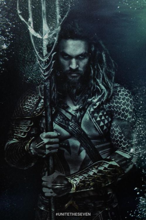 Jason Momoa AquaMan Movie Art Silk Poster 24x36inch