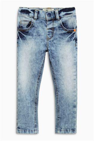 a03a1cd61 Mid Blue Towel Wash Jeans (3mths-6yrs)