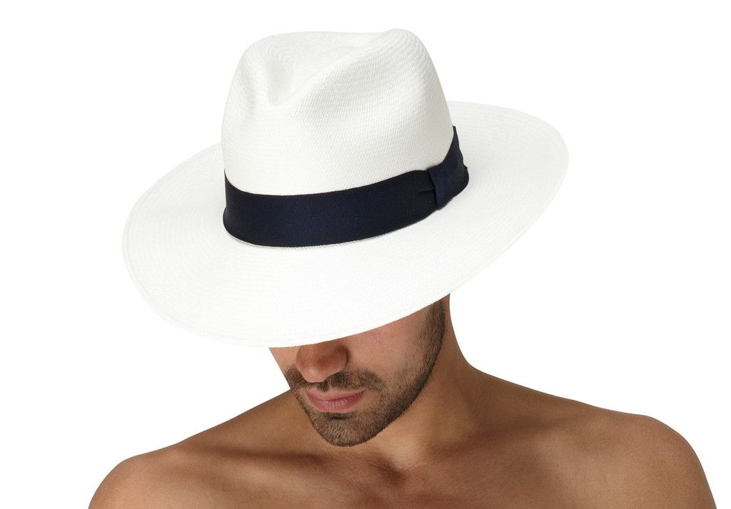 4c9f2a3f Panama Hat Navy Blue - Luxury Beach Accessories | Frescobol Carioca | Frescobol  Carioca