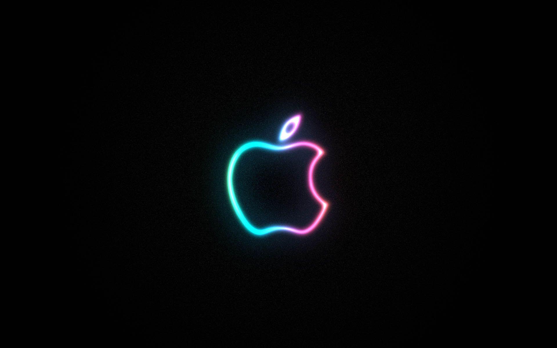 1366x768 apple logo flower - photo #28