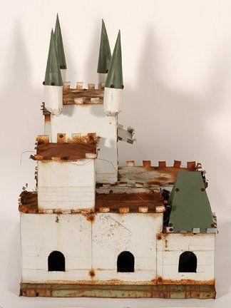 Samuel Mirelez. Snow White's Castle Birdhouse.