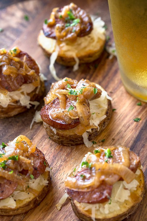 Oktoberfest Potato Stacks | The Cozy Apron