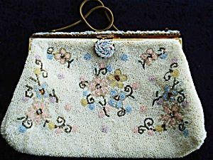 Beaded Purse French Bag by Michel Swiss