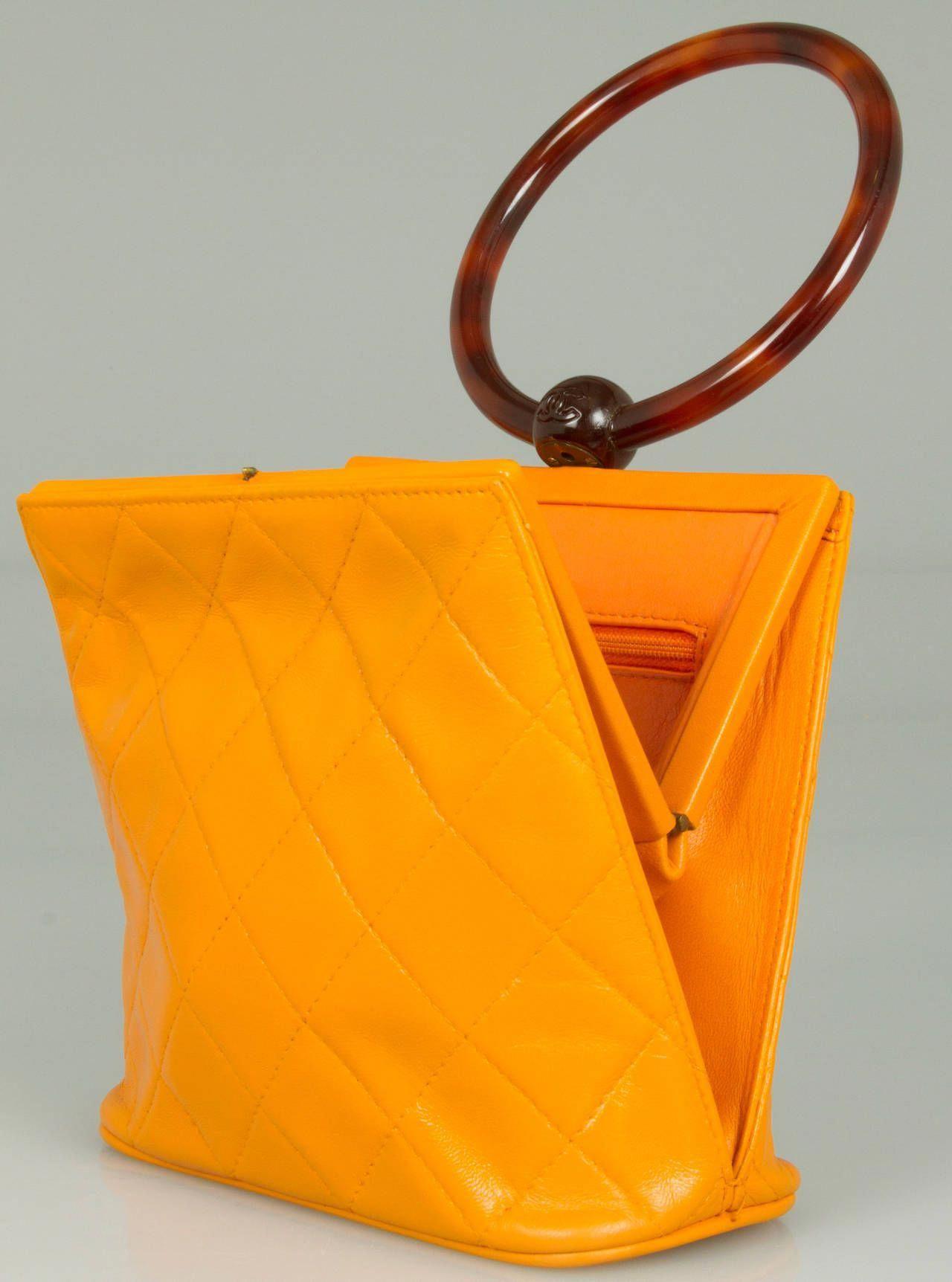 520b5fead481 Fun CHANEL Handbag with Round Handle | 1stdibs.com #Chanelhandbags ...