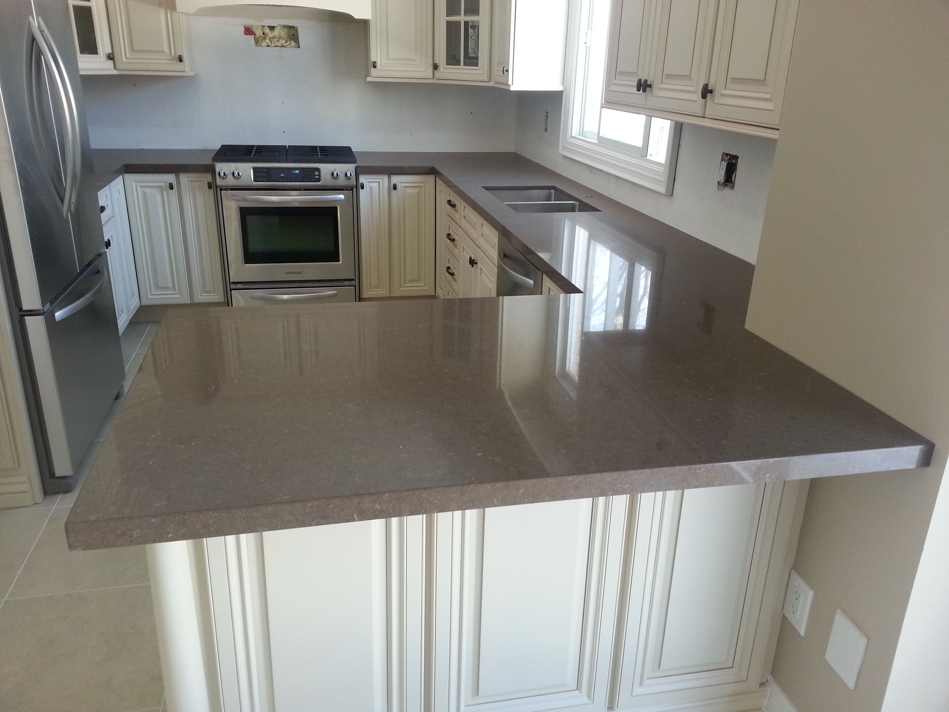 Wildrice by Stone Galleria | White kitchen, Kitchen, Home