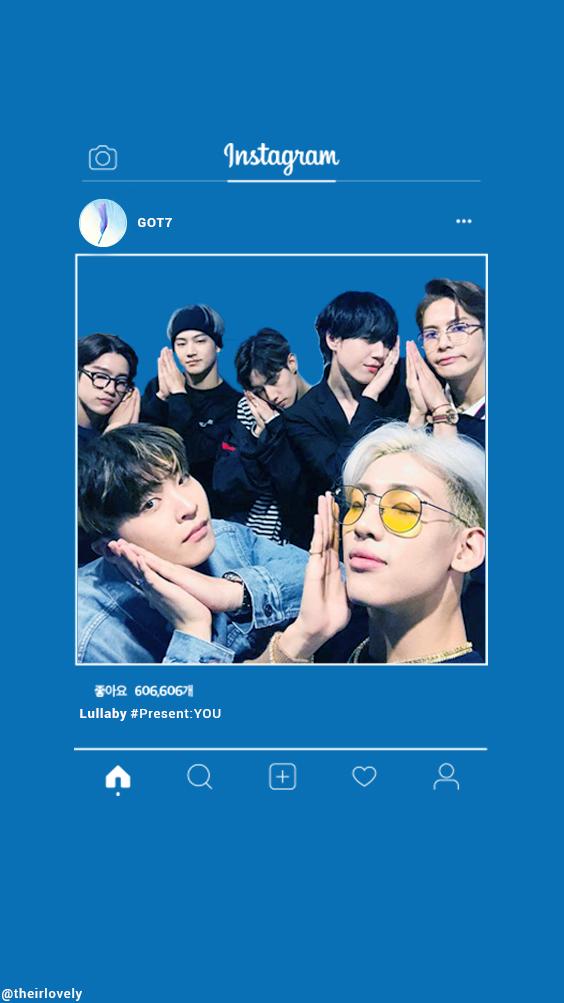 GOT7 INsta edit GOT7 wallpaper GOT7 Lullaby kpop